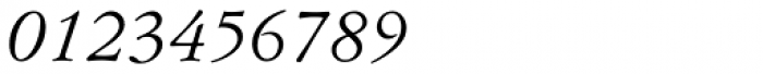 Flanker Garaldus Italic Font OTHER CHARS