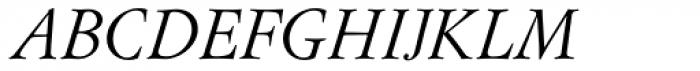 Flanker Garaldus Italic Font UPPERCASE