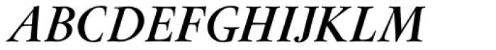 Flanker Garaldus Small Caps Bold Italic Font UPPERCASE