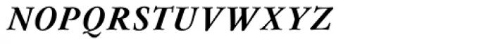 Flanker Garaldus Small Caps Bold Italic Font LOWERCASE