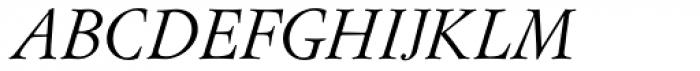 Flanker Garaldus Small Caps Italic Font UPPERCASE