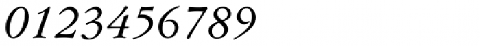 Flanker Garaldus Small Caps Medium Italic Font OTHER CHARS