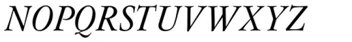 Flanker Garaldus Small Caps Medium Italic Font UPPERCASE