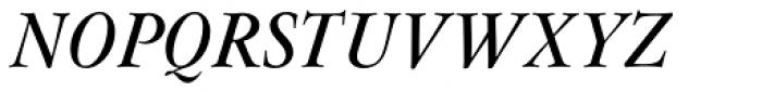 Flanker Garaldus Small Caps SemiBold Italic Font UPPERCASE