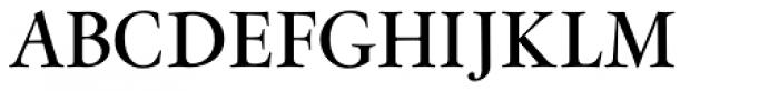 Flanker Garaldus Small Caps SemiBold Font UPPERCASE