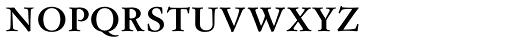 Flanker Garaldus Small Caps SemiBold Font LOWERCASE