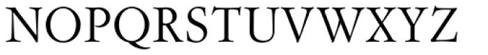 Flanker Garaldus Font UPPERCASE