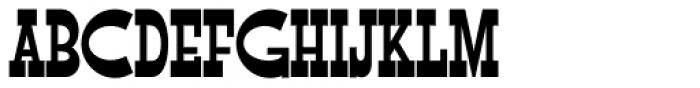 Flap Jacks NF Font UPPERCASE