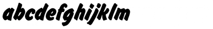 Flash D Bold Font LOWERCASE