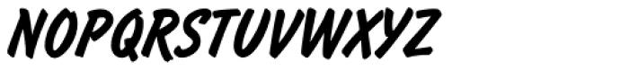 Flash Light Font UPPERCASE