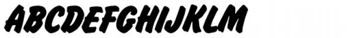 Flash P Bold Font UPPERCASE
