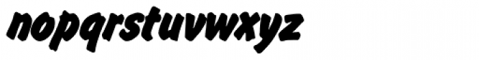 Flash P Bold Font LOWERCASE