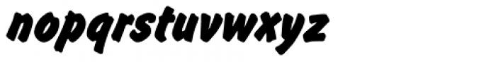 Flash Pro Bold Font LOWERCASE