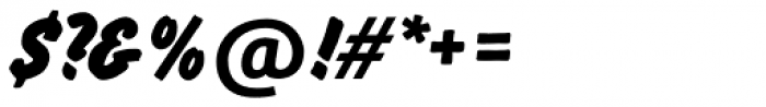 Flash SH Regular Font OTHER CHARS