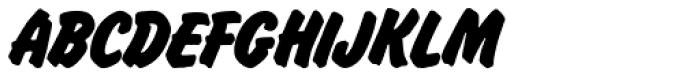 Flash SH Regular Font UPPERCASE