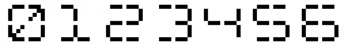 Flat Seg Sixteen Font OTHER CHARS
