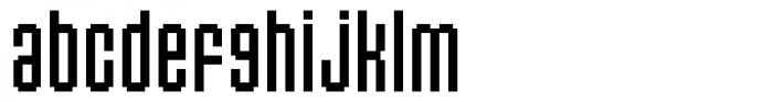 Flat20 Headline Font LOWERCASE