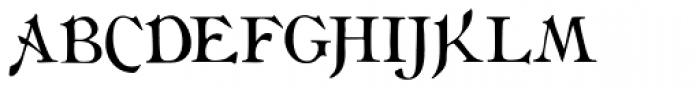 Flaubert Font UPPERCASE