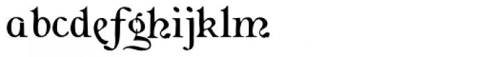 Flaubert Font LOWERCASE