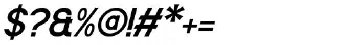 Flaunters Medium Italic Font OTHER CHARS