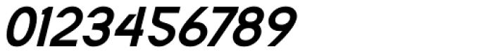 Flaunters Semi Bold Italic Font OTHER CHARS