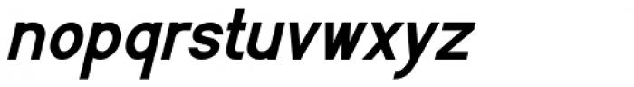 Flaunters Semi Bold Italic Font LOWERCASE