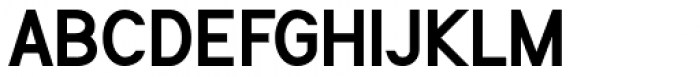 Flaunters Semi Bold Font UPPERCASE