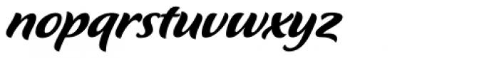 Flavour Medium Font LOWERCASE