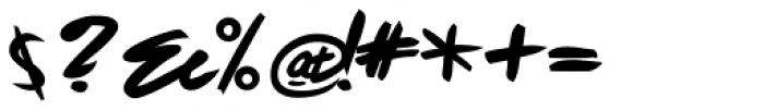 Fleche Heavy Font OTHER CHARS
