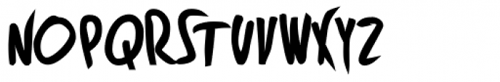 Fleche Heavy Font UPPERCASE