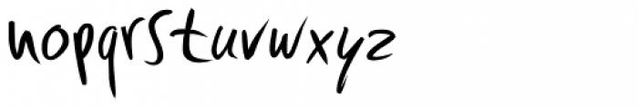 Fleche Thin Font LOWERCASE