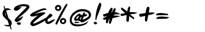 Fleche Font OTHER CHARS