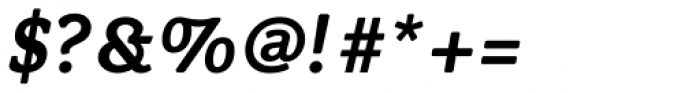 Flembo Text Bold Italic Font OTHER CHARS