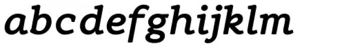 Flembo Text Bold Italic Font LOWERCASE