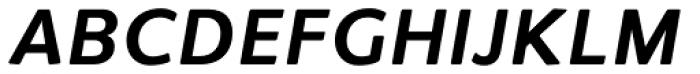 Flembo Title Bold Italic Font UPPERCASE