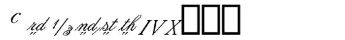 Flemish Script II Alt Font LOWERCASE