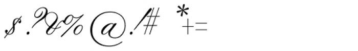 Flemish Script Font OTHER CHARS