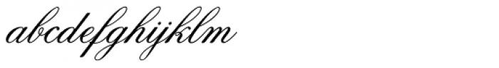 Flemish Script Font LOWERCASE