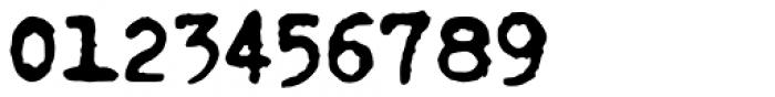 Fletcher Typewriter Black Font OTHER CHARS