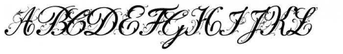 Fleurie Font UPPERCASE