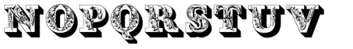 Fleurons Initials Font UPPERCASE