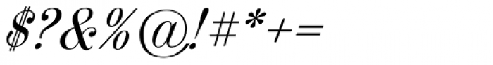 Fleursdumal Italic Font OTHER CHARS