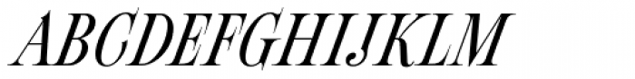 Fleursdumal Italic Font UPPERCASE