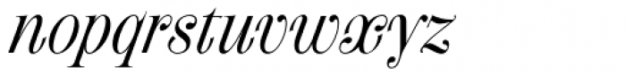 Fleursdumal Italic Font LOWERCASE