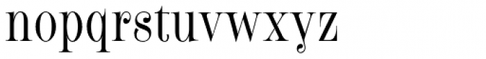 Fleursdumal Font LOWERCASE