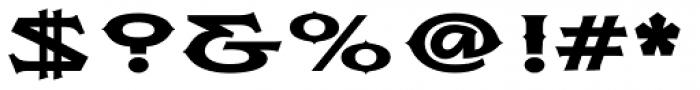 Flexion Pro Black Font OTHER CHARS