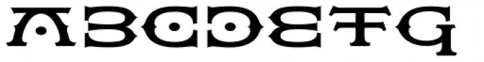 Flexion Pro Bold Font UPPERCASE