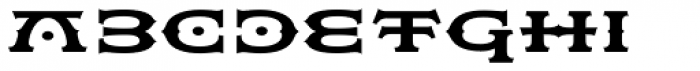Flexion Pro Bold Font LOWERCASE