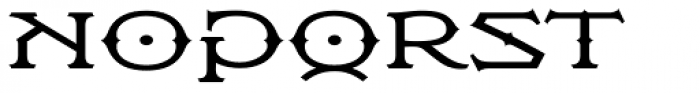 Flexion Pro Medium Font UPPERCASE