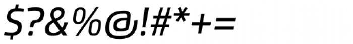 Flexo Medium Italic Font OTHER CHARS